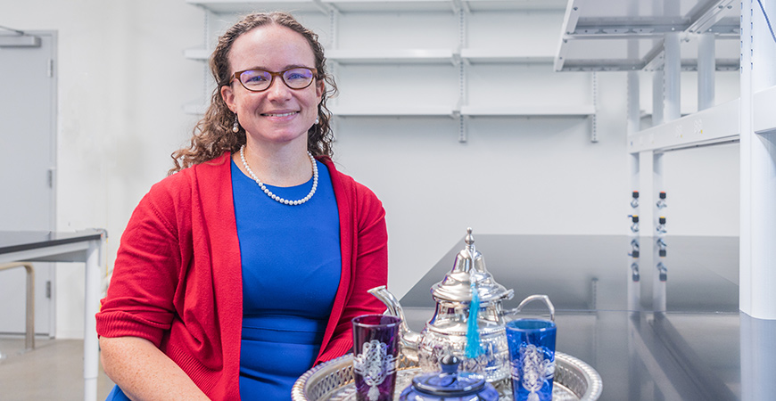 Professor Colleen Naughton is taking students to Morocco to study argan oil production.