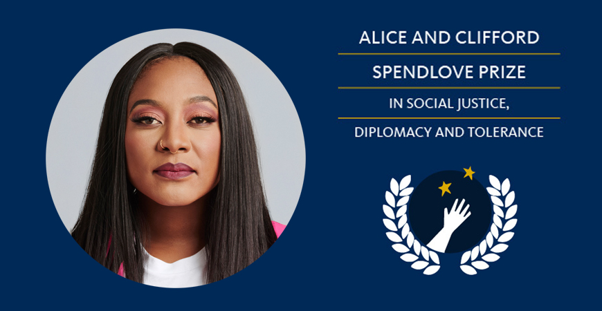 Alicia Garza is a co-founder of the Black Lives Matter Global Network.