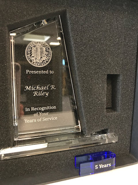 UC Merced Crystal Award