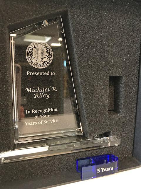 UC Merced Crystal Award