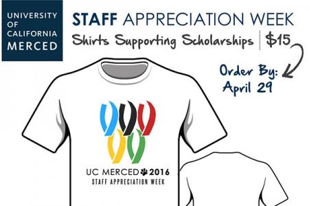 Staff Appreciation Week Themed Shirts